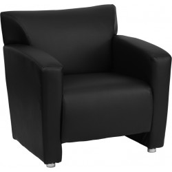 HERCULES Majesty Series Black LeatherSoft Chair