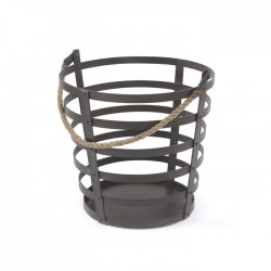 Iron and Rope Basket