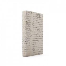 Single Ivory Script Gold Leaf Book