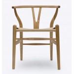 Wishbone Chair Ch24 Y Chair- Ash- Reproduction