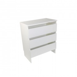 Base Closet Module with Top & Drawer Stack