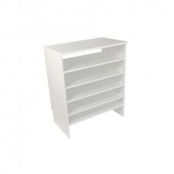 Base Closet Module with Top & Shoe Shelves