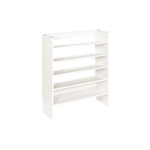 Base Closet Module with Shoe Shelves