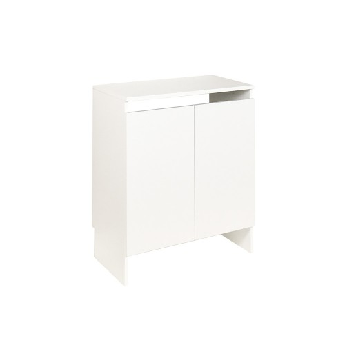 Base Closet Module with Top, Door & Shelves