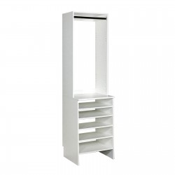 Upper High Hang & Base Top Shoe Shelf