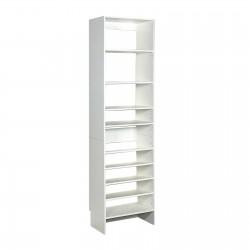 Upper Shelf & Base Shoe Shelf