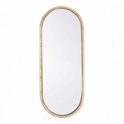 Oval Gold Mirror Gold
